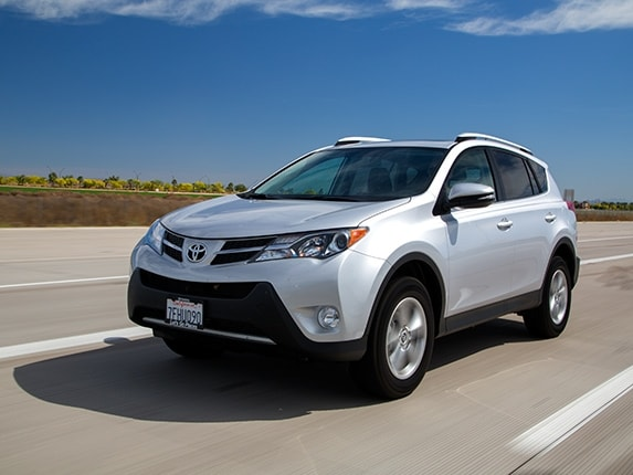 Compact SUV Comparison: 2015 Toyota RAV4 - Kelley Blue Book