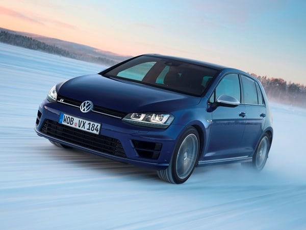 2015 Volkswagen Golf R First Drive: Fast and Frozen - Gen 7