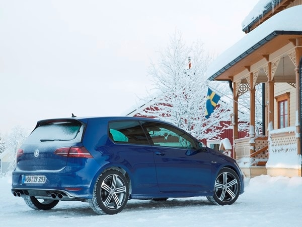 2015 Volkswagen Golf R First Drive: Fast and Frozen - Gen 7 8