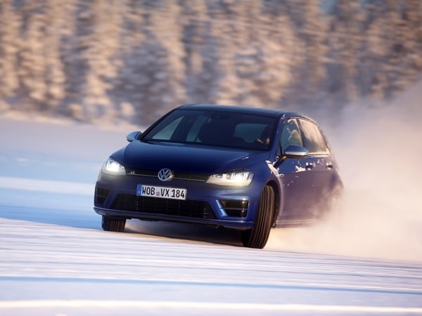 2015 Volkswagen Golf R First Drive: Fast and Frozen - Gen 7 12
