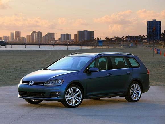 2015 Volkswagen Golf SportWagen First Review - Kelley Blue Book