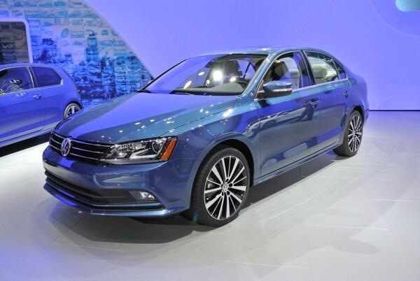 2015 Volkswagen Jetta Shows Fresh Face In New York