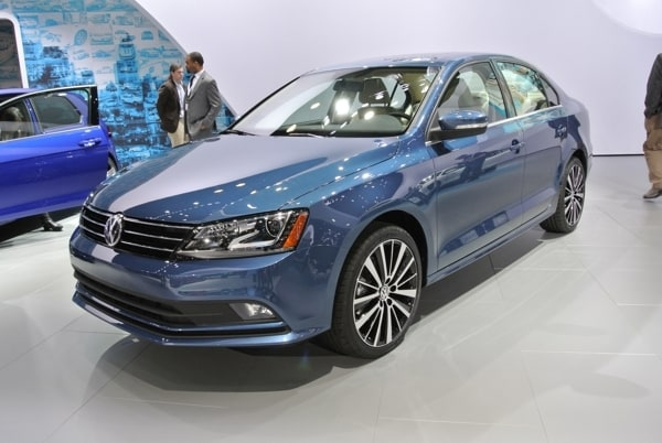 2015 Volkswagen Jetta Shows Fresh Face In New York