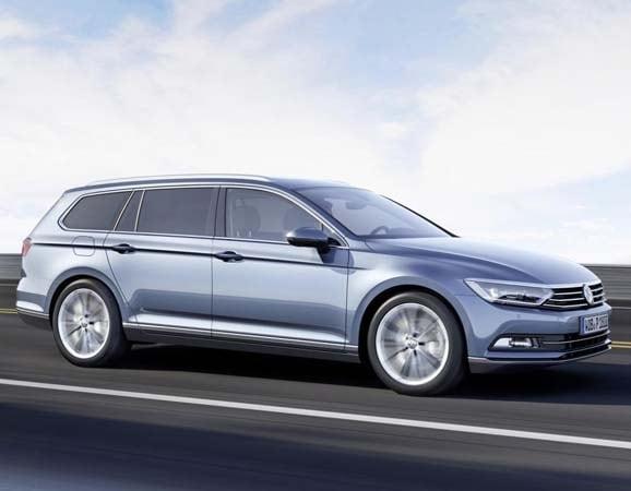European 2015 Volkswagen Passat hints at next-gen U.S ...