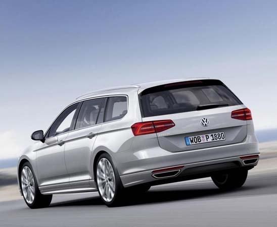 European 2015 Volkswagen Passat hints at next-gen U.S. model ...