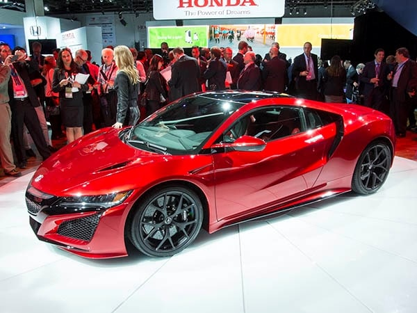 2016 Acura Nsx Unveiled In Detroit Video Kelley Blue Book