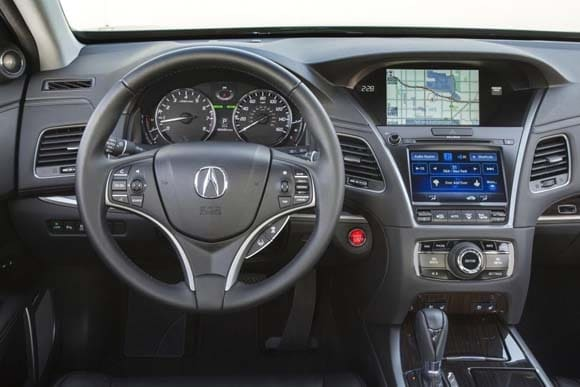 2016 Acura Rlx Gets Chis Tweaks Adds New Safety Driver Ists Kelley Blue Book