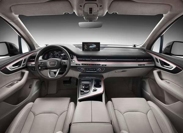 Audi Q7 Black Rims