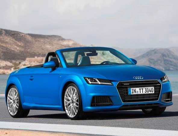 2016 Audi Tt Tts Lineup Makes U S Debut Kelley Blue Book