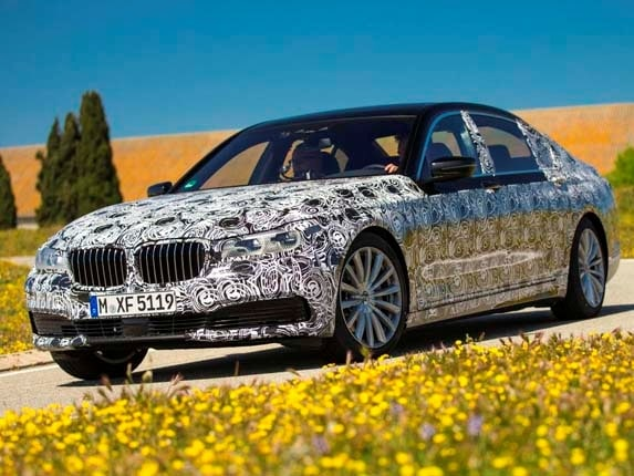 The Redesigned 2016 BMW 7 Series Will Be Unveiled In June Prior To Its Appearance This Fall At Frankfurt Auto Show While Automaker Isnt Ready
