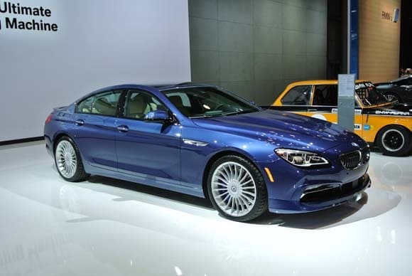 2016 bmw alpina b6 xdrive gran coupe makes u s debut. Black Bedroom Furniture Sets. Home Design Ideas