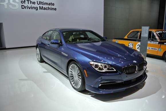 2016 Bmw Alpina B6 Xdrive Gran Coupe Makes U S Debut