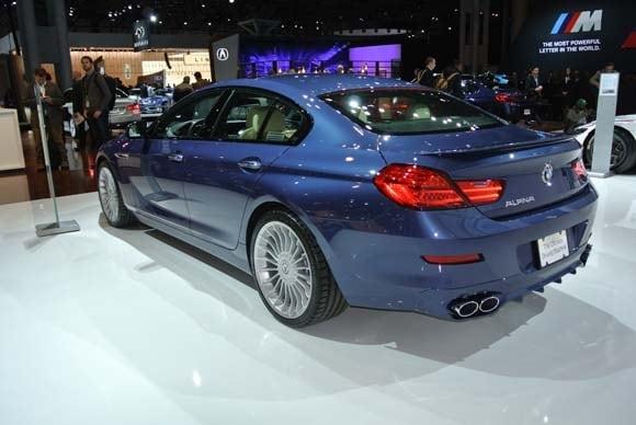2016 BMW Alpina B6 xDrive Gran Coupe makes U.S. debut | Kelley Blue Book