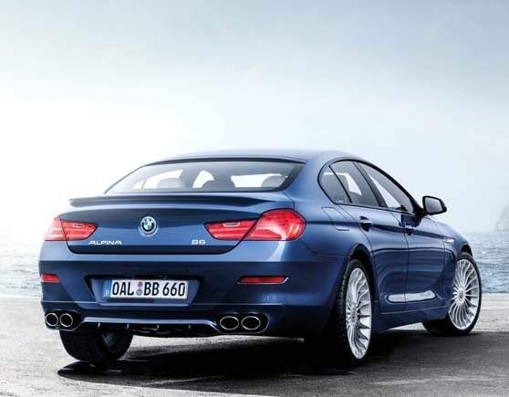2016 BMW Alpina B6 XDrive Gran Coupe Hits 600 Hp