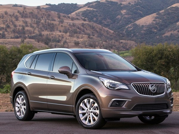 2016 buick envision crossover arrives next summer kelley blue book. Black Bedroom Furniture Sets. Home Design Ideas