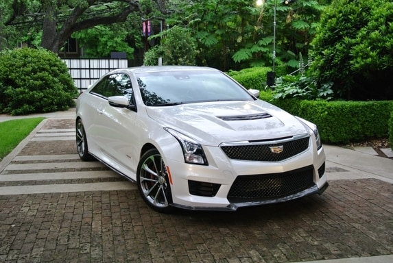 2016 Cadillac Ats V First Review Kelley Blue Book