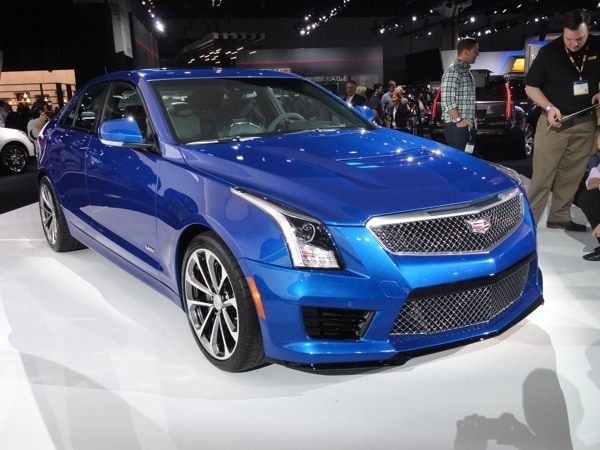 2016 Cadillac ATS-V launched in Los Angeles - Kelley Blue Book