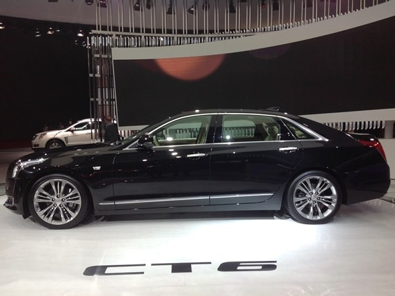 2016 Cadillac CT6 PHEV debuts in Shanghai and is U.S. bound - Kelley Blue Book