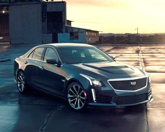 2016 Cadillac Cts V Blue 200 Interior And Exterior Images
