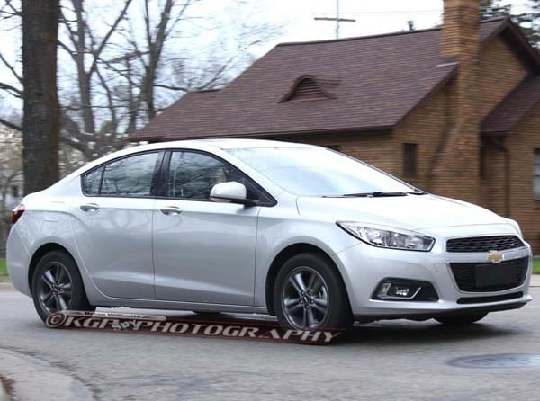 2016 Chevrolet Cruze Spied Kelley Blue Book