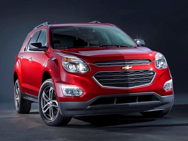 2016 Chevrolet Equinox Refresh Nets New Look More Features Kelley