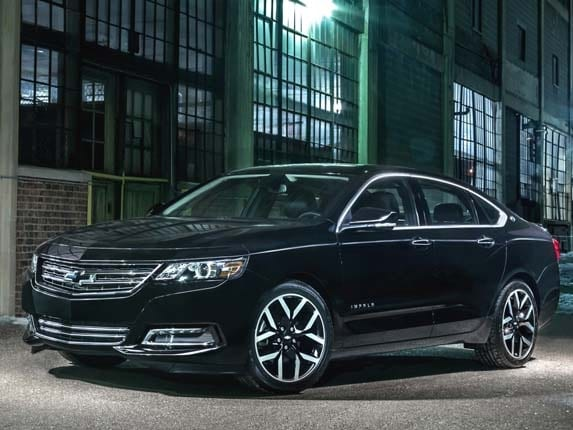 2016 Chevrolet Impala Midnight Edition bows - Kelley Blue Book
