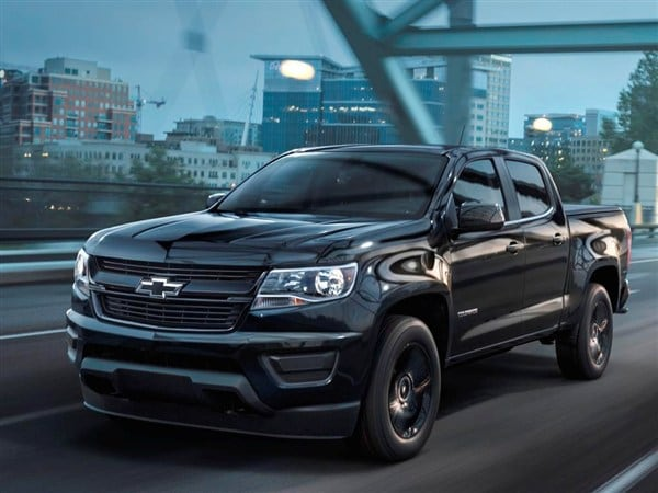 2016 Chevy Colorado Midnight Edition and Z71 Trail Boss ...