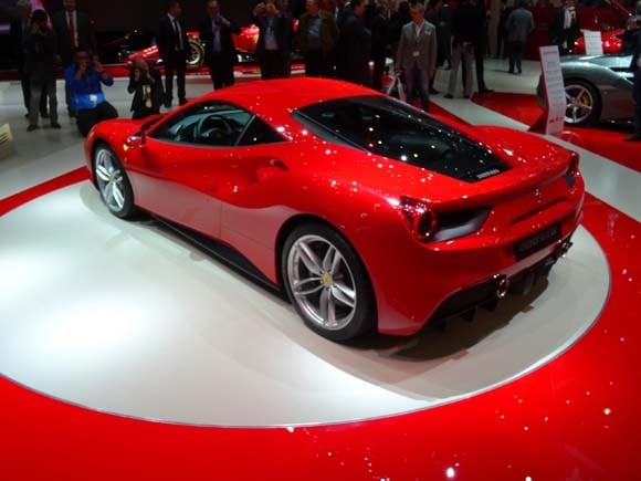2016 Ferrari 488 GTB: Turbo thriller Geneva-bound - Kelley ...