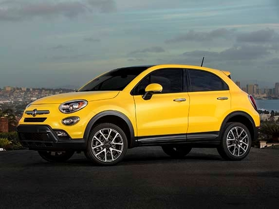 2016 fiat 500x first review kelley blue book. Black Bedroom Furniture Sets. Home Design Ideas