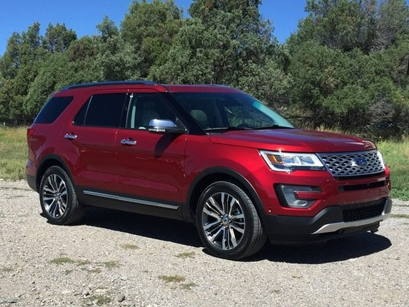 2016 ford explorer platinum first review road trip kelley blue book. Black Bedroom Furniture Sets. Home Design Ideas