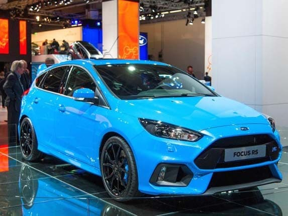 2016 ford focus rs bows next spring with 350 horsepower kelley blue book. Black Bedroom Furniture Sets. Home Design Ideas