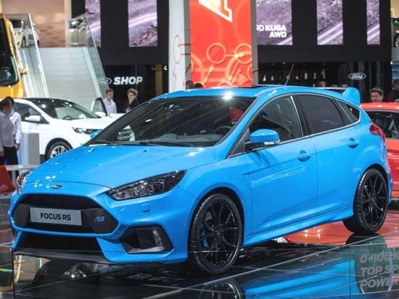 2016 ford focus rs bows next spring with 350 horsepower | kelley