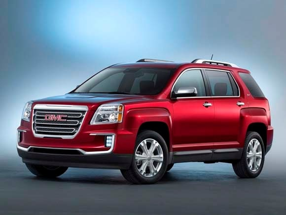 2015 Gmc Terrain Denali >> 2016 GMC Terrain/Terrain Denali refreshed, add new ...