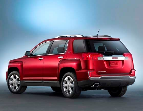 gmc view show international new york debut terrain auto denali front