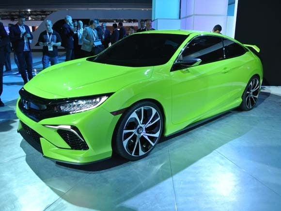 2016 honda civic concept previews dramatic new lineup