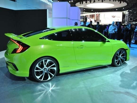 2016 Honda Civic Concept Previews Dramatic New Lineup Kelley Blue Book