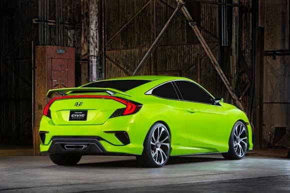 2016 Honda Civic Concept previews dramatic new lineup - Kelley Blue Book