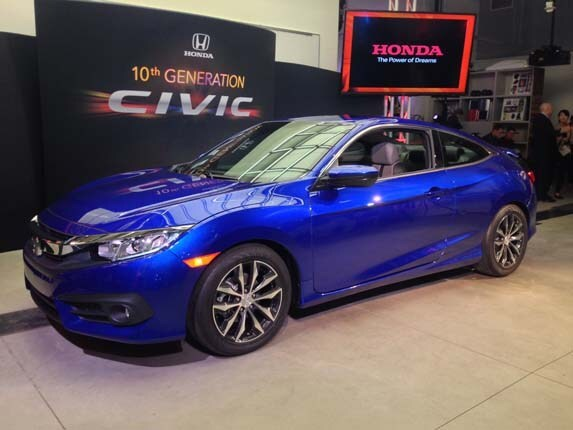 2016 Honda Civic Coupe Revealed Fulfills Promise Of Concept Car