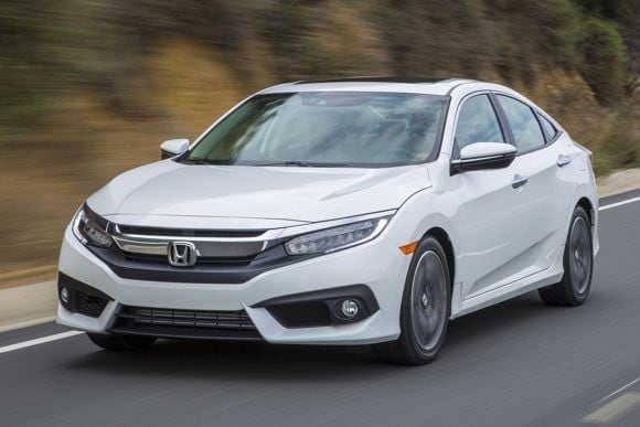 First Review 2016 Honda Civic Pulls Away From The Pack Kelley