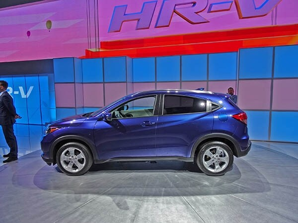 2016 Honda HR-V makes its first personal appearance ...