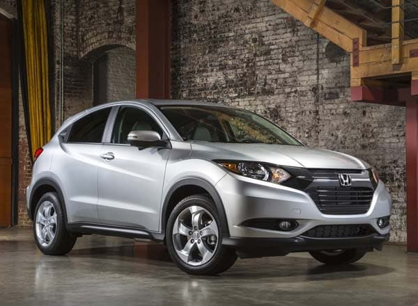 2016 Honda Hr V Earns A 35 Mpg Highway Rating