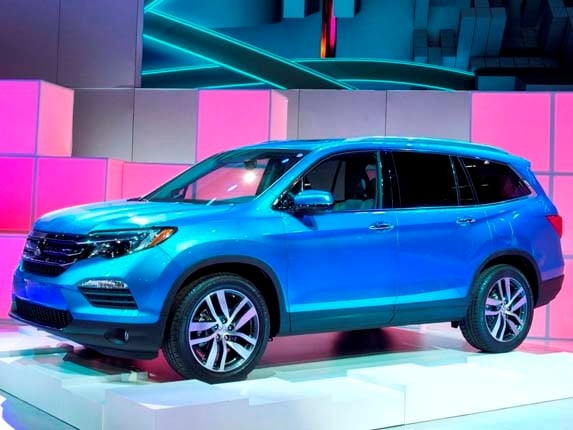 Although The All New 2016 Honda Pilot Was Unveiled At Chicago Auto Show In February A Number Of Details About Third Generation This Midsize Suv