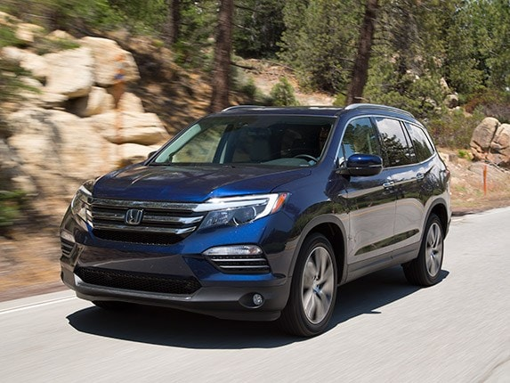 Midsize SUV Comparison 2016 Honda Pilot  Kelley Blue Book