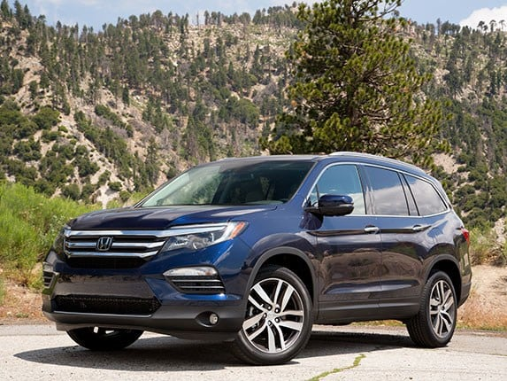 midsize suv comparison 2016 honda pilot kelley blue book. Black Bedroom Furniture Sets. Home Design Ideas