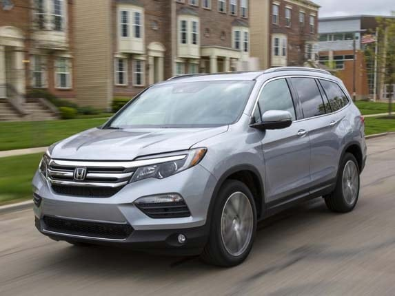 2016 Honda Pilot Earns IIHS Top Safety Pick+ Rating