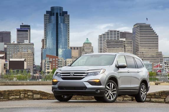 First Honda 2016 Honda Pilot First Review