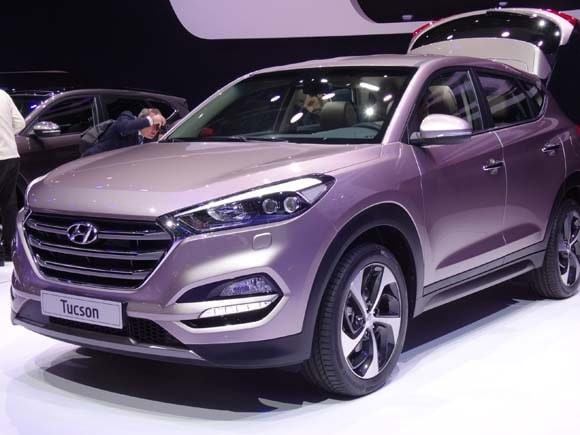 2016 hyundai tucson previewed at geneva kelley blue book. Black Bedroom Furniture Sets. Home Design Ideas