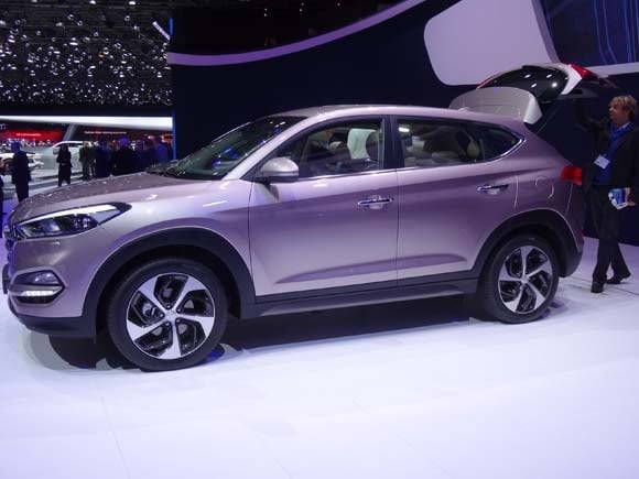 2016 Hyundai Tucson previewed at Geneva - Kelley Blue Book