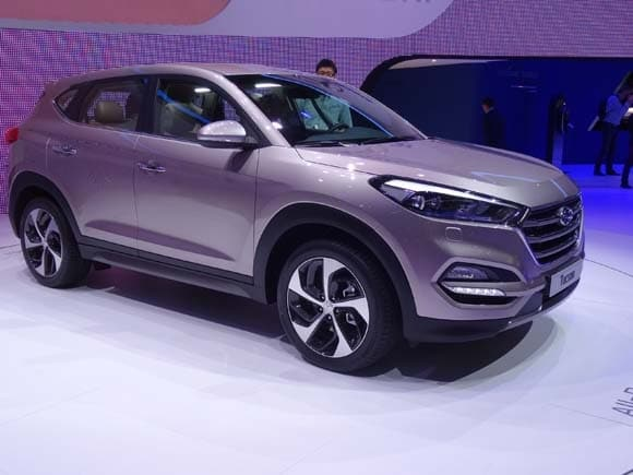 2016 Hyundai Tucson Previewed At Geneva Kelley Blue Book