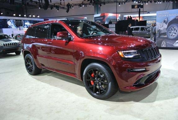 2016 Jeep Grand Cherokee Srt Night Unveiled